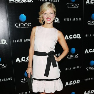 Arden Myrin in A.C.O.D. Los Angeles Premiere