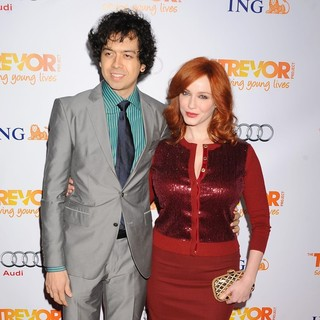 Christina Hendricks in The Trevor Project's 2011 Trevor Live! - Arrivals - arend-hendricks-2011-trevor-live-01