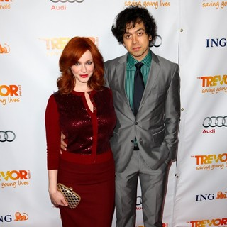 Christina Hendricks in The Trevor Project's 2011 Trevor Live! - Arrivals - arend-hendricks-2011-trevor-live-02
