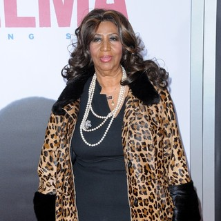 Aretha Franklin in New York Premiere of Selma - Red Carpet Arrivals