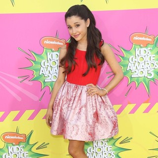 Ariana Grande in Nickelodeon's 26th Annual Kids' Choice Awards - Arrivals