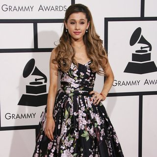 Ariana Grande in The 56th Annual GRAMMY Awards - Arrivals