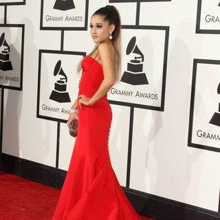 Ariana Grande in 58th Annual GRAMMY Awards - Arrivals