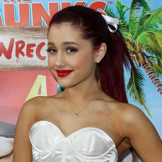 Ariana Grande in The Twentieth Century Fox Home Entertainment's Alvin and The Chipmunks: Chipwrecked Blu-ray and DVD