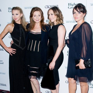 Nina Arianda, Donna Murphy, Vera Farmiga, Dagmara Dominczyk in The New York Premiere of Higher Ground - Arrivals