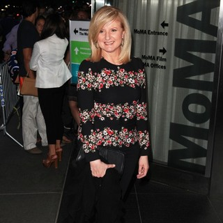 Arianna Huffington in New York Premiere of jOBS