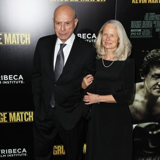 Alan Arkin, Suzanne Newlander in Grudge Match New York Screening - Red Carpet Arrivals
