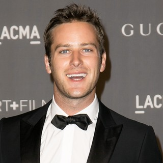 Armie Hammer in LACMA 2012 Art + Film Gala - Arrivals