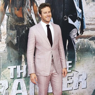 Armie Hammer in The World Premiere of Disney-Jerry Bruckheimer Films' The Lone Ranger