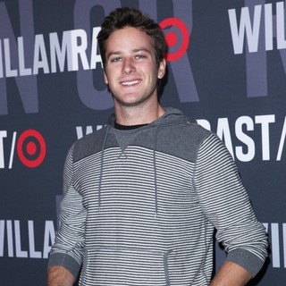 Armie Hammer in William Rast for Target Launch Party - Arrivals