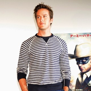 Armie Hammer in The Lone Ranger Tokyo Press Conference