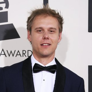 Armin van Buuren in The 56th Annual GRAMMY Awards - Arrivals