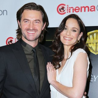 Richard Armitage, Sarah Wayne Callies in Warner Bros Picture Event at CinemaCon 2014