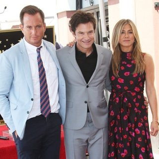 Will Arnett, Jason Bateman, Jennifer Aniston in Jason Bateman Honored with Star on The Hollywood Walk of Fame