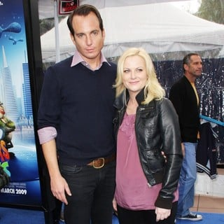 Will Arnett, Amy Poehler in Los Angeles Premiere Monsters vs. Aliens