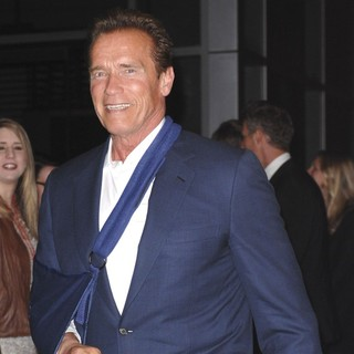 Arnold Schwarzenegger in The Los Angeles Premiere of Act of Valor - Arrivals