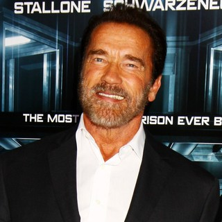 Arnold Schwarzenegger in New York Movie Premiere for Escape Plan