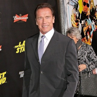 Arnold Schwarzenegger in The World Premiere of The Last Stand