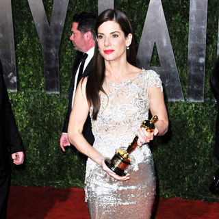 Sandra Bullock in The 82nd Annual Academy Awards (Oscars) - Vanity Fair Party - Arrivals