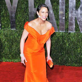 Paula Patton in The 82nd Annual Academy Awards (Oscars) - Vanity Fair Party - Arrivals