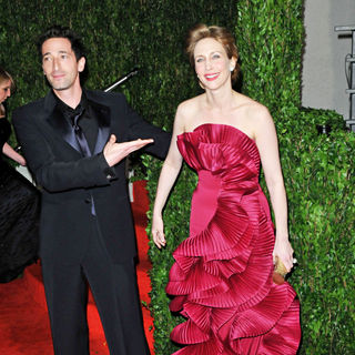 Adrien Brody, Vera Farmiga in The 82nd Annual Academy Awards (Oscars) - Vanity Fair Party - Arrivals