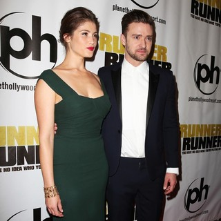 Gemma Arterton, Justin Timberlake in Twentieth Century Fox and New Regency Celebrate The World Premiere of Runner, Runner