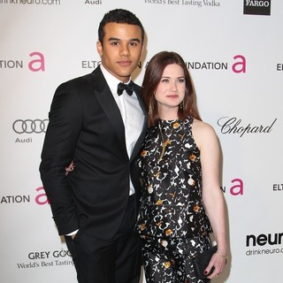 Jacob Artist, Bonnie Wright in 21st Annual Elton John AIDS Foundation's Oscar Viewing Party