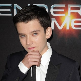 Asa Butterfield in Premiere Ender's Game