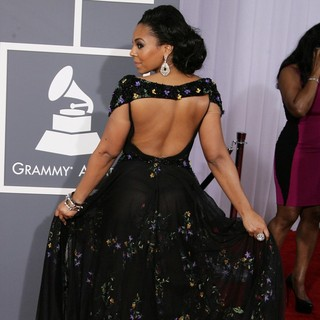 Ashanti in 55th Annual GRAMMY Awards - Arrivals - ashanti-55th-annual-grammy-awards-07