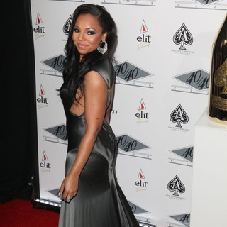Ashanti in Grand Re-Opening of The 40-40 Club - Arrivals