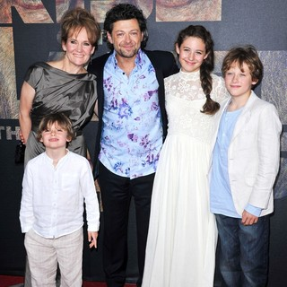 Lorraine Ashbourne, Andy Serkis in The Premiere of 20th Century Fox's Rise of the Planet of the Apes - Arrivals
