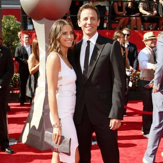 Alexi Ashe, Seth Meyers in The 2011 ESPY Awards
