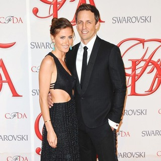 Alexi Ashe, Seth Meyers in 2012 CFDA Fashion Awards