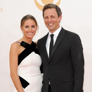Alexi Ashe, Seth Meyers in 65th Annual Primetime Emmy Awards - Arrivals