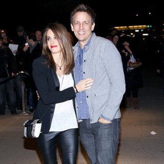 Alexi Ashe, Seth Meyers in The New York Premiere of Friends with Kids