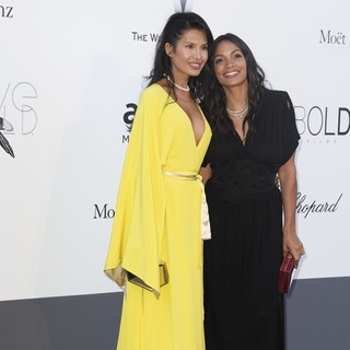 Goga Ashkenazi, Rosario Dawson in 66th Cannes Film Festival - amfAR's 20th Annual Cinema Against AIDS - Arrivals