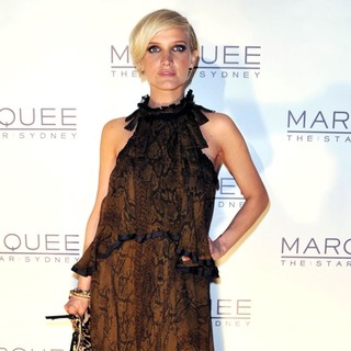 Ashlee Simpson in The Launch of Marquee Nightclub