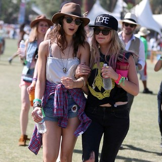 Ashley Benson in The 2013 Coachella Valley Music and Arts Festival - Week 1 Day 3