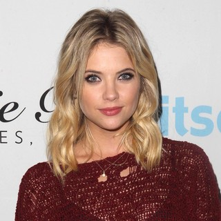 Ashley Benson in Get Festive with Frankie B. and Kitson
