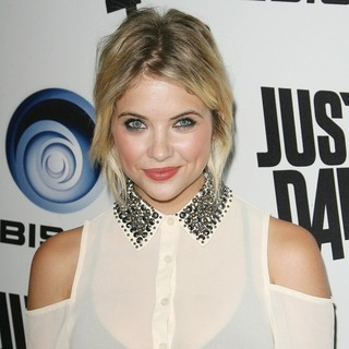Ashley Benson in Ubisoft's Just Dance 4 Launch Party