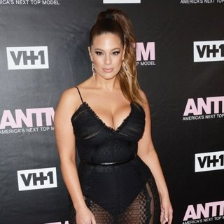 Ashley Graham-VH1 America's Next Top Model Premiere Party - Red Carpet Arrivals