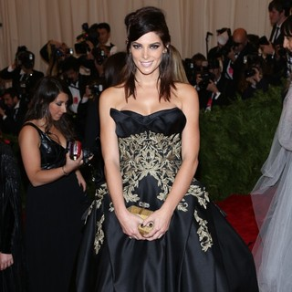 Ashley Greene in PUNK: Chaos to Couture Costume Institute Gala