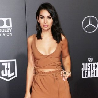 Ashley Iaconetti in Justice League Film Premiere
