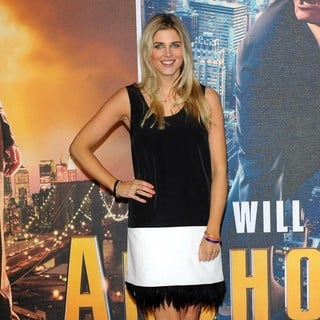 Ashley James in U.K. Premiere of Anchorman: The Legend Continues - Arrivals
