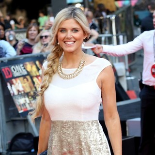 Ashley James in World Premiere of One Direction: This Is Us - Arrivals