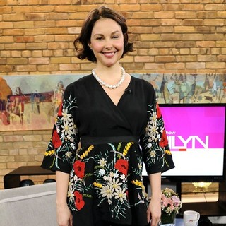 Ashley Judd in Ashley Judd Appears on The Marilyn Denis Show Promoting TV Series Missing
