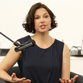 Ashley Judd in Ashley Judd at Her Book Signing and Conversation with The United Nations Office on Drugs and Crime