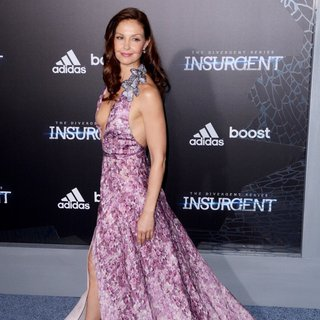 Ashley Judd in US Premiere of The Divergent Series: Insurgent - Red Carpet Arrivals