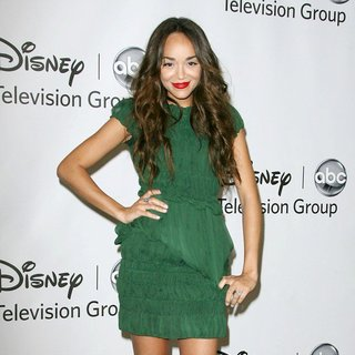 Ashley Madekwe in 2011 Disney ABC Television Group Host Summer Press Tour