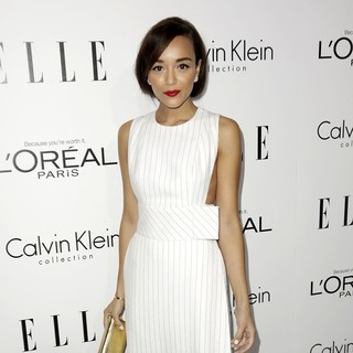 Ashley Madekwe in ELLE 20th Annual Women in Hollywood Celebration